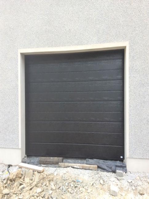 Black Sectional Door