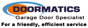 Doormatics Garage Door Specialist Logo